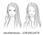 illustration of a beautiful... | Shutterstock .eps vector #1391812475