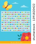 educational children game ... | Shutterstock .eps vector #1391820422