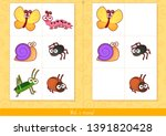 educational children game ... | Shutterstock .eps vector #1391820428