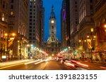 scene of philadelphia's... | Shutterstock . vector #1391823155
