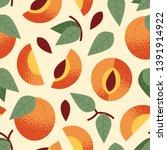 seamless pattern  ornament of...   Shutterstock .eps vector #1391914922
