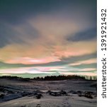 Nacreous Clouds Over Eastern...