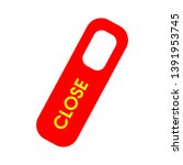 close tag   close sign flat... | Shutterstock .eps vector #1391953745