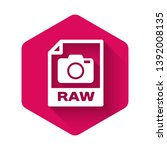 white raw file document icon....   Shutterstock .eps vector #1392008135
