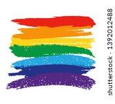 lgbt concept. flag pride...   Shutterstock .eps vector #1392012488