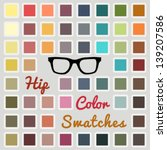 Vector Large Set Of Cool Color...