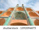 the amir chakhmaq complex is a... | Shutterstock . vector #1392096875