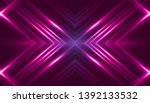 dark abstract futuristic... | Shutterstock . vector #1392133532