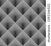 rhombus geometric asymmetric...   Shutterstock .eps vector #1392146522