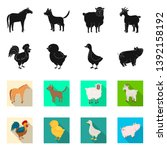 vector illustration of breeding ... | Shutterstock .eps vector #1392158192