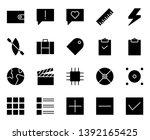 user interface 7 icon glyph