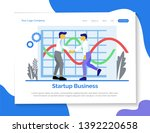 start up business landing page...