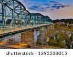 The Walnut street bridge, built in 1890, it was the first to connect Chattanooga, Tennessee