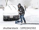 Young Man In Winter Coat...