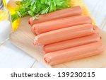 sausages   Shutterstock . vector #139230215