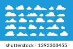 Various Vector Cloud Shapes...