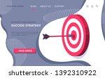 isometric vector image on white ... | Shutterstock .eps vector #1392310922