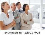 business people looking at the... | Shutterstock . vector #139237925