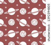 seamless vector pattern with...   Shutterstock .eps vector #1392394805