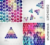 retro pattern of geometric... | Shutterstock .eps vector #139240352