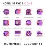 modern set hotel services...