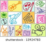 arts and leisure | Shutterstock .eps vector #13924783