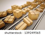 packages are being sorted on... | Shutterstock . vector #139249565