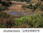 honghe yuanyang  samaba rice... | Shutterstock . vector #1392498575