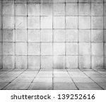 old tiled room   Shutterstock . vector #139252616