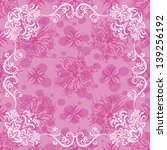 pink holiday background with... | Shutterstock .eps vector #139256192