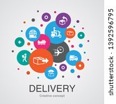 delivery trendy ui bubble...
