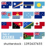collection of flags from all... | Shutterstock .eps vector #1392637655