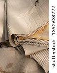close up of old ruin cardboard... | Shutterstock . vector #1392638222