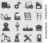 industry icons set.vector | Shutterstock .eps vector #139265912