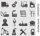 industry icons set.vector | Shutterstock .eps vector #139265912