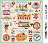 Collection Of Ice Cream Design...