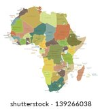 Africa Highly Detailed Map.all...