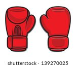 boxing gloves | Shutterstock .eps vector #139270025