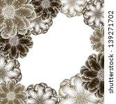abstract vector flower...   Shutterstock .eps vector #139271702