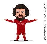 mohamed salah egyptian... | Shutterstock .eps vector #1392726215