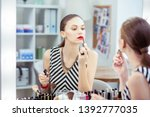 beautiful lips. beautiful nice...   Shutterstock . vector #1392777035