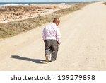 dwarfish african man walking... | Shutterstock . vector #139279898