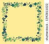 rhombus ornate minimal... | Shutterstock .eps vector #1392811022