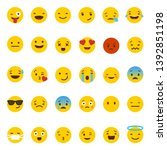 Emoji Collection  Set Of Happy...