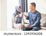 beautiful indonesian muslim... | Shutterstock . vector #1392936308