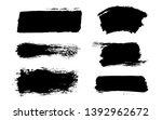 brush strokes. vector... | Shutterstock .eps vector #1392962672
