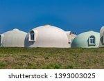 dome houses  kaga  ishikawa... | Shutterstock . vector #1393003025