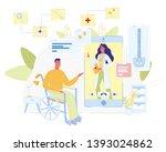 online doctor consultation for...   Shutterstock .eps vector #1393024862