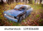Wrecked Opel Record B 1900 ...