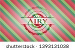 airy christmas colors emblem.... | Shutterstock .eps vector #1393131038